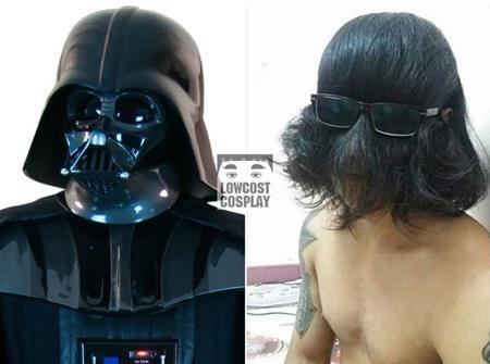 Thay vì tạo cảm giác rùng rợn đáng sợ, Darth Vader phiên bản tóc tai luộm thuộm đã khiến cho người hâm mộ phải nín cười