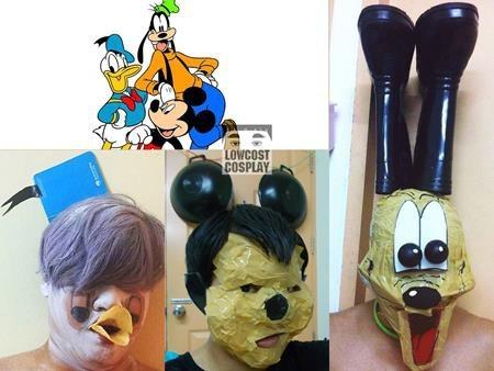 """Bộ ba nhân vật kinh điển của Disney là vịt Donald, chuột Mickey và chú chó Goofy cũng không thoát khỏi bàn tay """"đạo nhái"""" lầy lội"""
