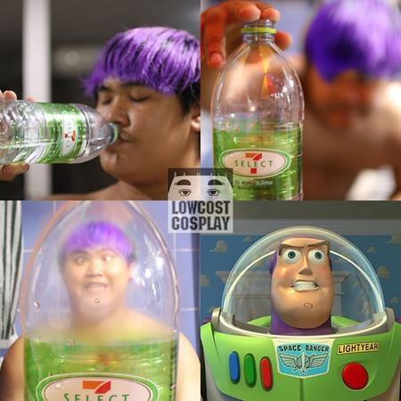 Buzz Lightyear chẳng biết nên vui hay buồn khi thấy bản thân được mô phỏng lại theo cách khó đỡ như thế này