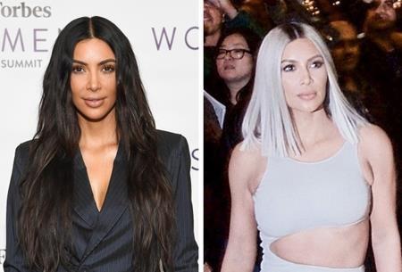 """Mỗi lần xuất hiện của Kim Kardashian là một lần khiến cho dư luận """"dậy sóng"""". Và trong một dịp """"hô biến"""" mái tóc thành màu bạch kim, cô Kim """"siêu vòng 3"""" đã nhận được rất nhiều lời tán dương."""