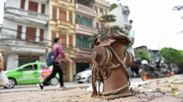 Nhiều trụ nước cứu hỏa trên địa bàn TP Hà Nội không phát huy tác dụng (Ảnh: Toàn Vũ)