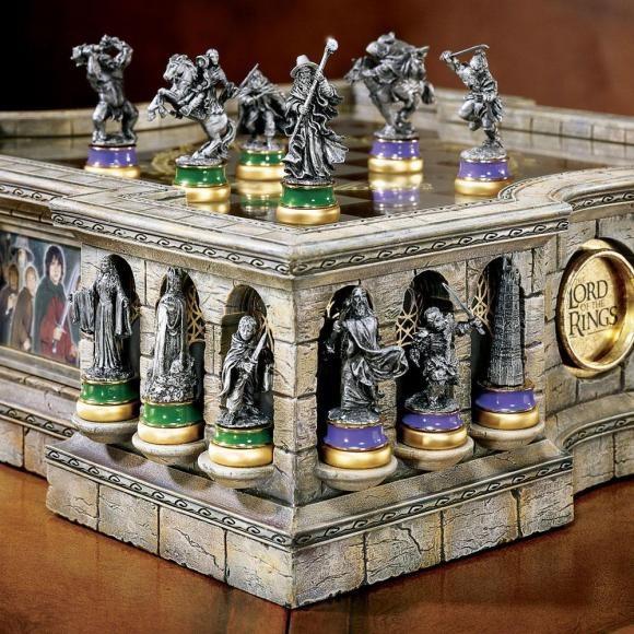 """Bộ cờ vua """"Chúa tể của những chiếc nhẫn"""" chỉ dành cho đại gia - 5"""