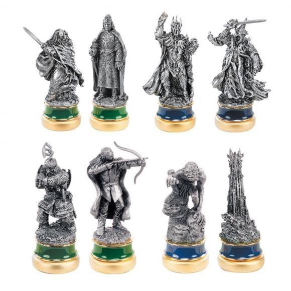 """Bộ cờ vua """"Chúa tể của những chiếc nhẫn"""" chỉ dành cho đại gia - 4"""