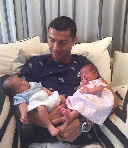 C.Ronaldo thì lại muốn mình có thật nhiều con cái