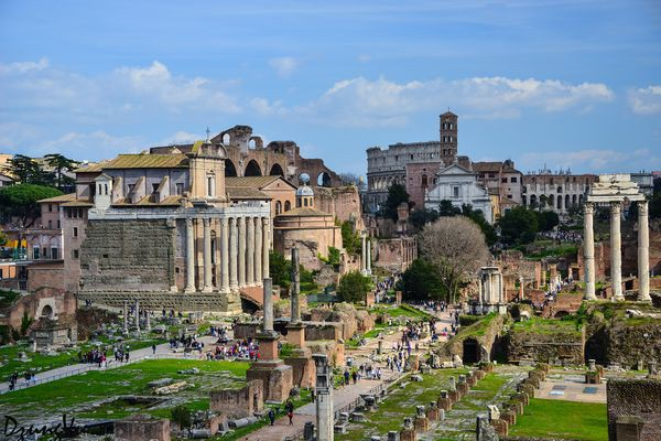 Ngắm hình bóng thời gian giữa không gian lãng mạn Roma - 7
