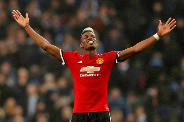 Paul Pogba rực sáng trong trận gặp Man City
