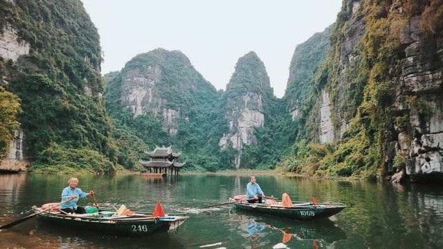 Danh thắng Tràng An được Unesco công nhận là di sản thiên nhiên thế giới.