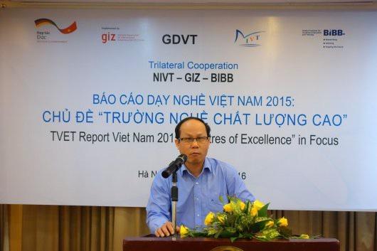 Nhà giáo ưu tú, TS. Vũ Xuân Hùng, Vụ trưởng Vụ Đào tạo chính quy, Tổng cục GDNN.
