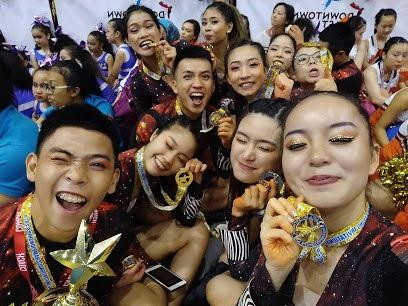 Niềm vui của các nhà vô địch Hanoi Elite