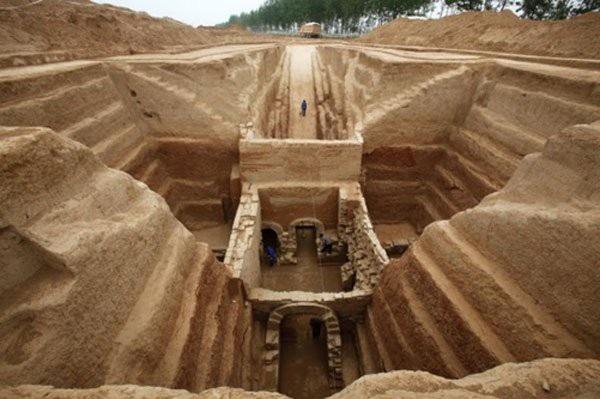 Khai quật phần mộ của Tào Tháo