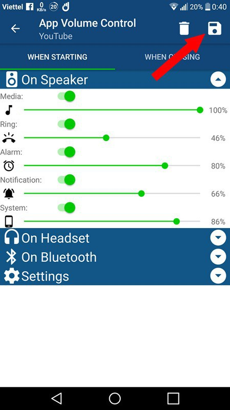 Thủ thuật thiết lập mức âm lượng riêng cho từng ứng dụng trên smartphone - 5