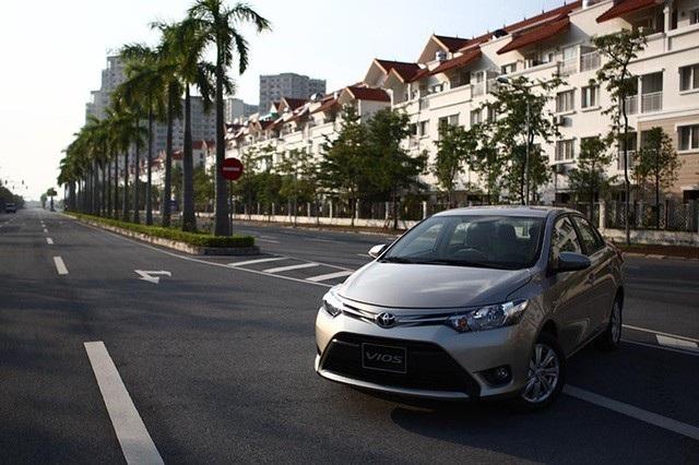 Toyota Vios ra mắt tháng 10/2016 là phiên bản mới nhất ở Việt Nam.
