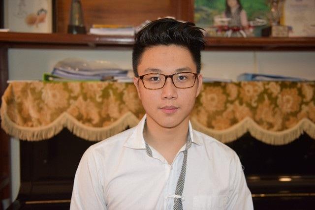 Bùi Mạnh Hùng, chàng trai Việt vừa trúng tuyển ĐH Stanford niên khóa 2018 - 2022.