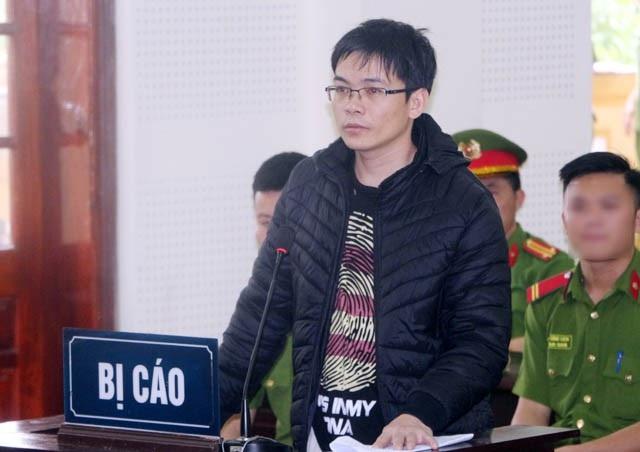 Bị cáo Nguyễn Viết Dũng tại phiên tòa