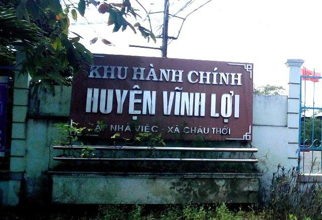 Nhiều cán bộ huyện Vĩnh Lợi bị kỷ luật vì có sai phạm.