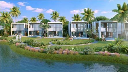 Phối cảnh khu villas đẳng cấp 5 sao Vinpearl Nam Hội An