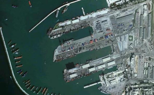 Cảng Tartus tại Syria (Ảnh: Getty)