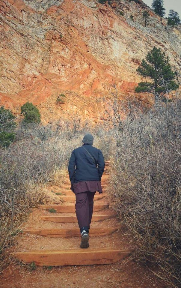 Với sư thầy Thích Tâm Tiến, bất kỳ khó khăn nào cũng là một bậc thang dẫn đến đỉnh cao.