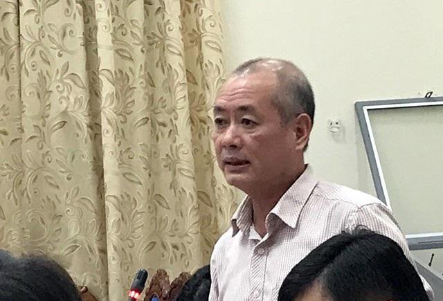 Ông Nguyễn Công Hiển – Giám đốc Trung tâm Bồi dưỡng chính trị huyện Đông Anh chia sẻ tâm tư tại buổi họp