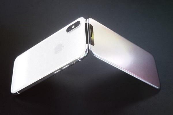 Concept iPhone X nắp gập vô cùng độc đáo.