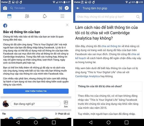 Cách kiểm tra tài khoản Facebook có bị khai thác trái phép hay không - 1