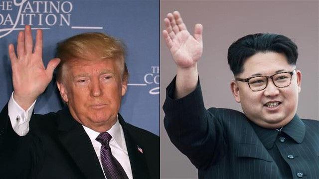 Tổng thống Donald Trump (trái) và nhà lãnh đạo Kim Jong-un (Ảnh: Press TV)
