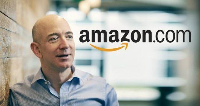 Jeff Bezos, ông chủ của Amazon