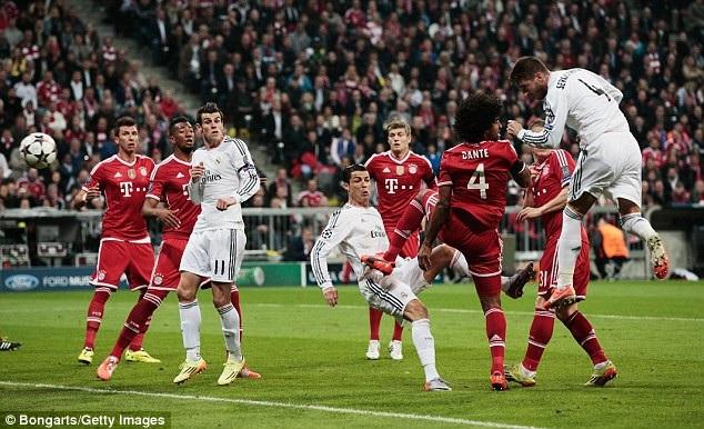 Real Madrid đánh bại Bayern Munich với tổng tỷ số 5-0 ở bán kết Champions League 2014