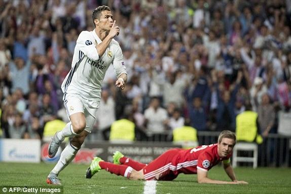 Real Madrid hạ Bayern Munich với tổng tỷ số 6-3 ở tứ kết Champions League 2016-17