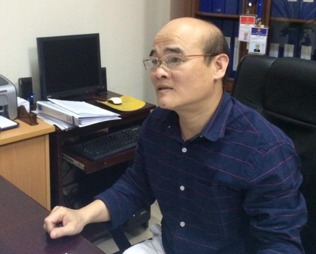 TS Nguyễn Huy Quang, Vụ trưởng Vụ Pháp chế (Bộ Y tế). Ảnh: H.Hải