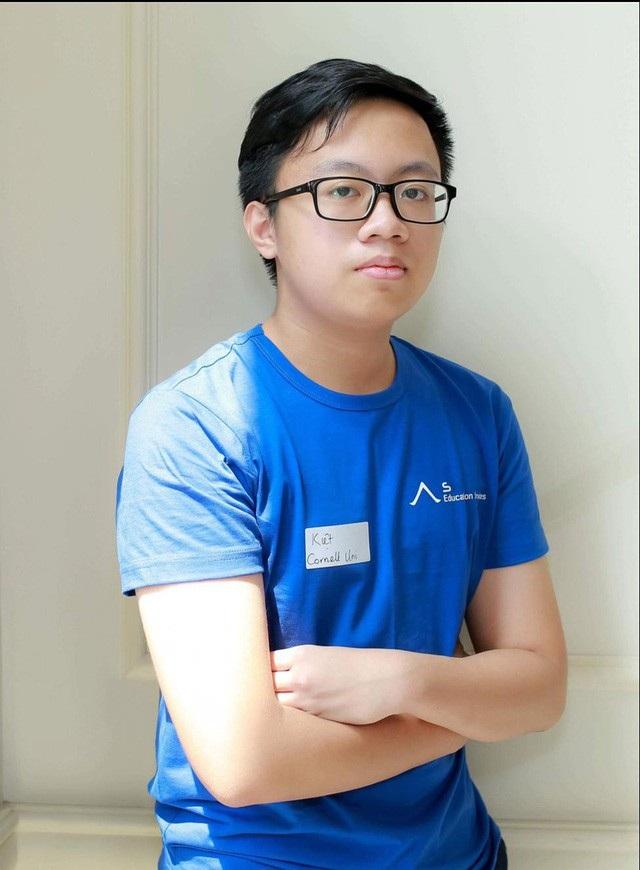 Cao Tuấn Kiệt sẽ là tân sinh viên Đại học Cornell niên khóa 2018 – 2022.