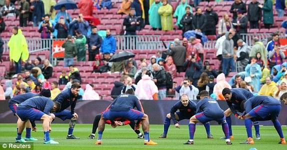 Barcelona cần một chiến thắng để quên đi thất bại ở Champions League