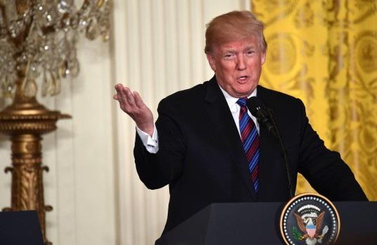 Tổng thống Mỹ Donald Trump (Ảnh: AFP)