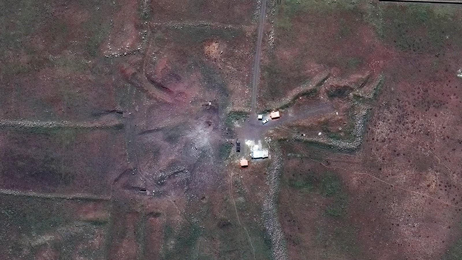 Các địa điểm của Syria bị phá hủy thế nào sau cuộc không kích? - 4