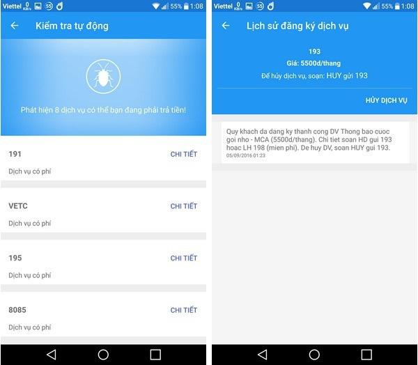 Thủ thuật giúp quản lý chi tiết cước phí sử dụng trên điện thoại di động - 4
