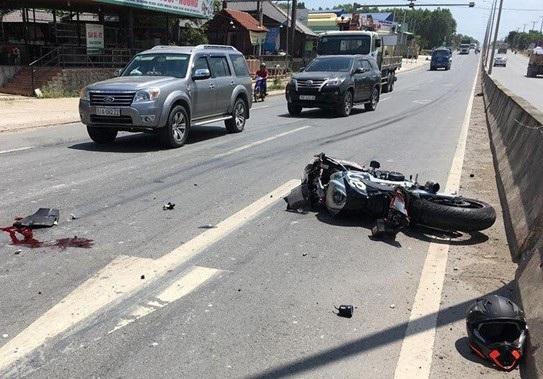 Tai nạn kinh hoàng với xe phân khối lớn ở Đồng Nai - 1