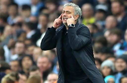 HLV Mourinho thất vọng vì thái độ thi đấu của các học trò