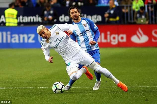 Real Madrid đã gặp khá nhiều khó khăn ở trận đấu này