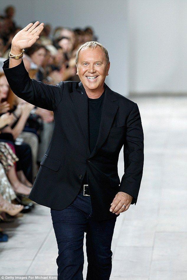 Nhà thiết kế thời trang người Mỹ Michael Kors