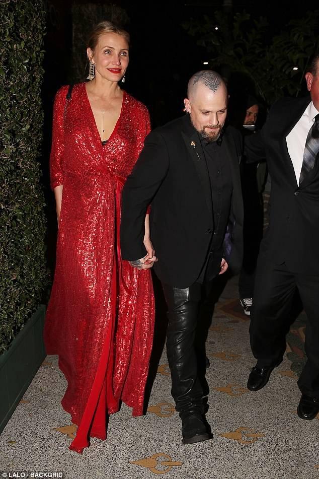 Vợ chồng Cameron Diaz cũng là khách mời của đám cưới bí mật này.