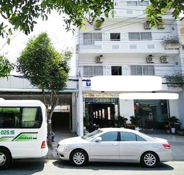 Khách sạn T.V, nơi ông Quang thông báo bị mất gần 400 triệu đồng.