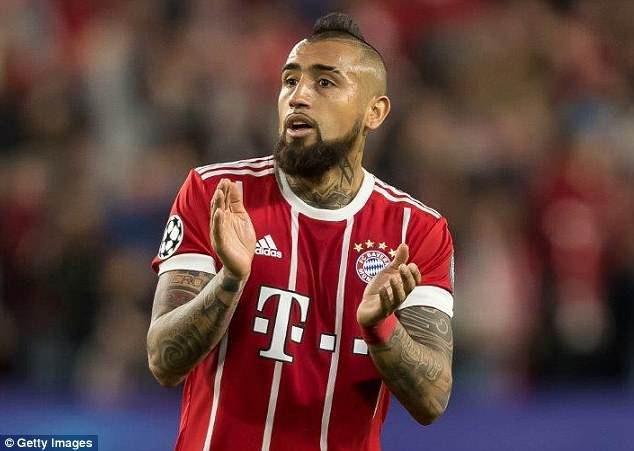 Bayern Munich sẽ gặp nhiều tổn thất khi mất Vidal