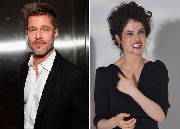 """Brad Pitt và """"bạn gái tin đồn"""" Neri Oxman"""