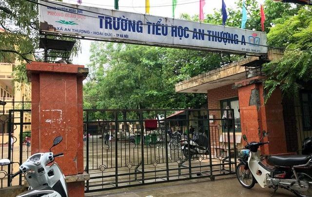 Trường Tiểu học An Thượng A, nơi xảy ra vụ việc.