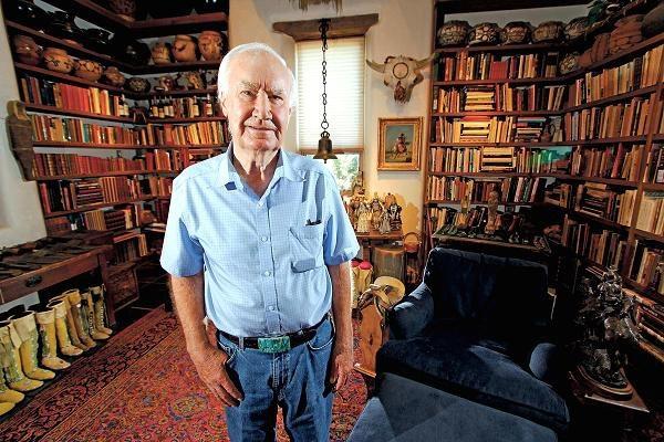 Ông Forrest Fenn, người đã chôn kho báu hàng triệu USD trên dãy Rokies cho cả thế giới đi tìm. (Nguồn: Luis Sanchez Saturno   Santa Fe New Mexican   AP)