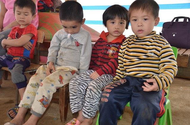 Tất cả các em là dân tộc thiểu số, đa phần hoàn cảnh gia đình hết sức khó khăn.