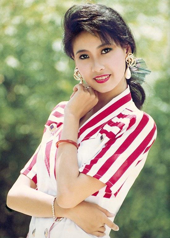 Hoa hậu Hà Kiều Anh thời điểm vừa đăng quang