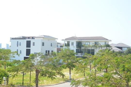 Mỗi căn biệt thự có diện tích khoảng từ 250 -1.300 m2