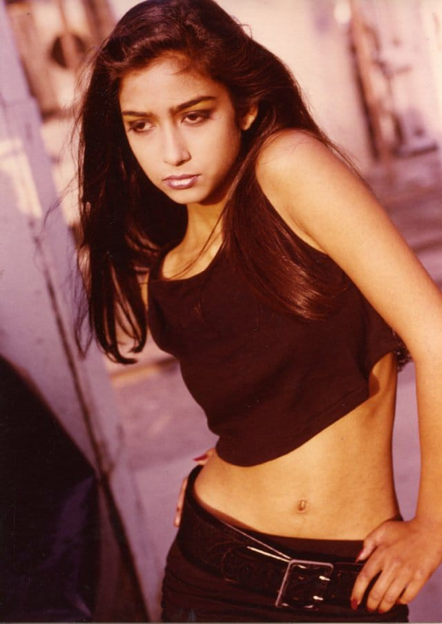 Nữ diễn viên Samia Shoaib thời trẻ