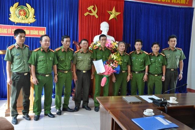Lực lượng cán bộ Đội Cảnh sát phòng, chống tội phạm công nghệ cao ra mắt